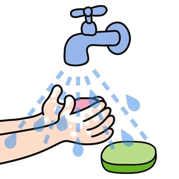 вас есть рисунки на тему чистые руки нее все