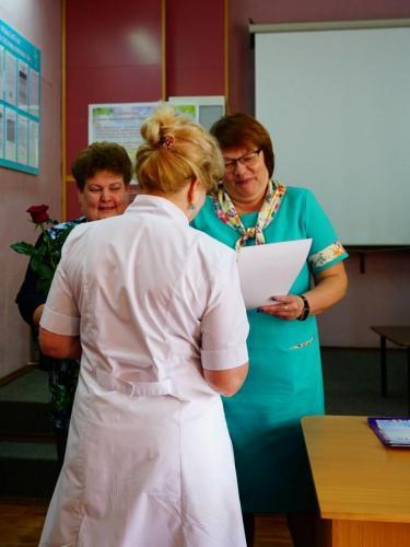 Тернивчук Т.И. - медсестра центра здоровья